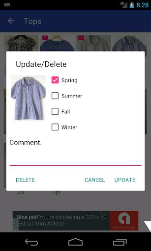 玩免費遊戲APP|下載MyWardrobe - ファッションを記録しよう! app不用錢|硬是要APP