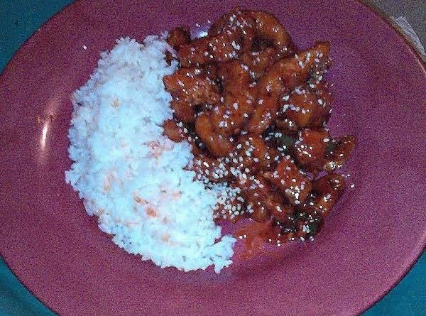 Spicy Orange Sesame Chicken Recipe