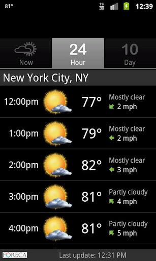 Palmary Weather screenshot 8