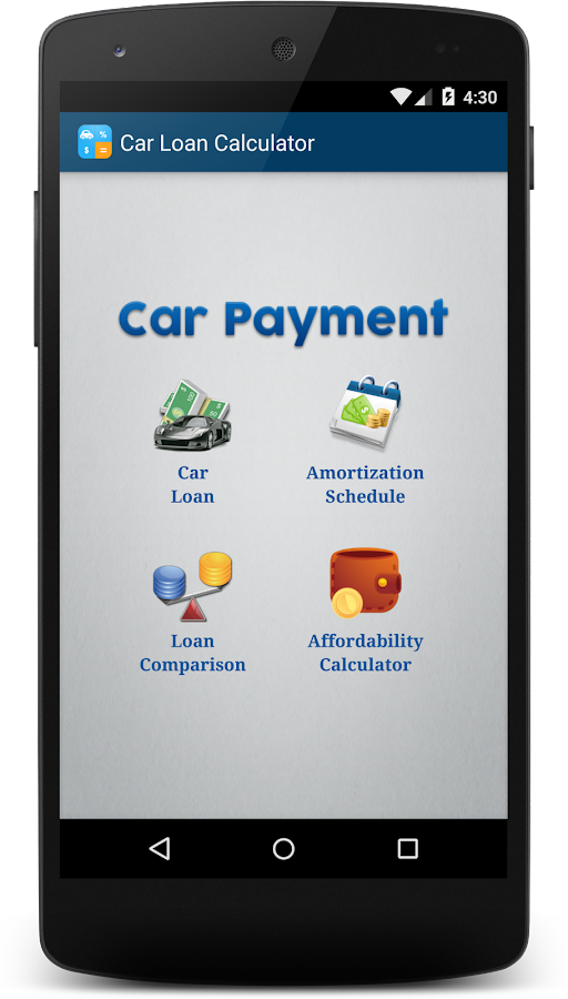 Auto loan calculator total payments