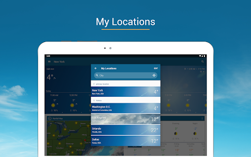 App Weather & Radar USA APK for Windows Phone