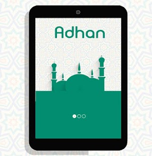 Listen to adhan sounds (athan) screenshot
