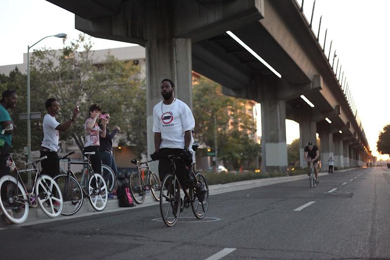 Photo: Bike racing on 7th Street