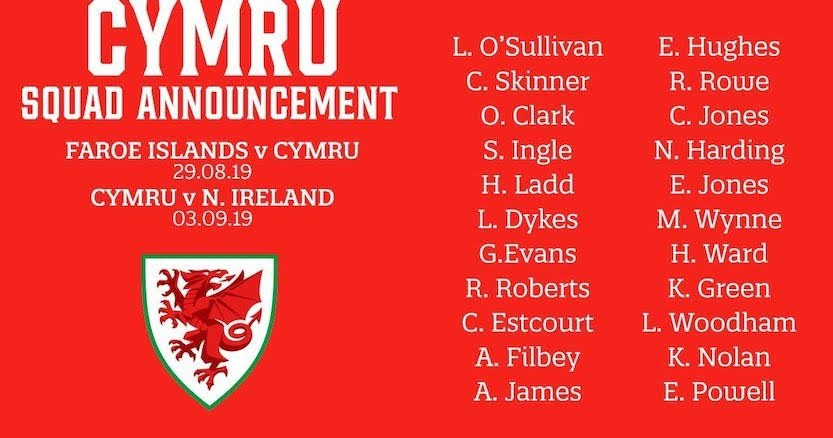 Jones gets Wales call-up