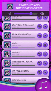 Ringtones and Notifications - náhled