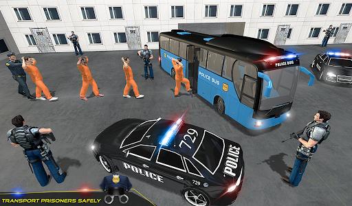 US Police Bus Transport Prison Break Survival Game 4.0 screenshots 11