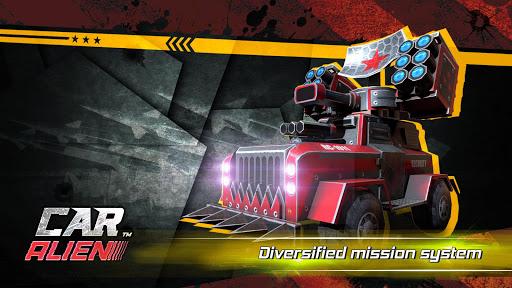 Car Alien - 3vs3 Battle screenshot 1