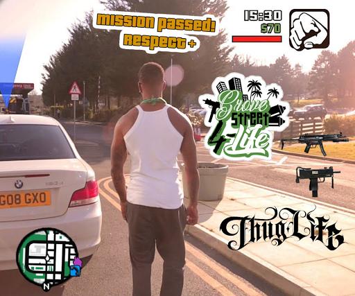 Wasted Photo Maker: Grand Theft Gangster Sticker 1.02 screenshots 2