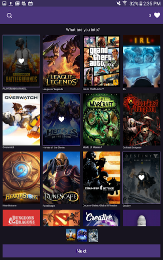 Screenshot 14 for Twitch.tv's Android app'