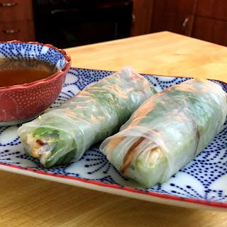 Vietnamese Salmon Rolls Recipe
