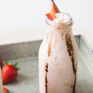 Bourbon Strawberry Milkshake.