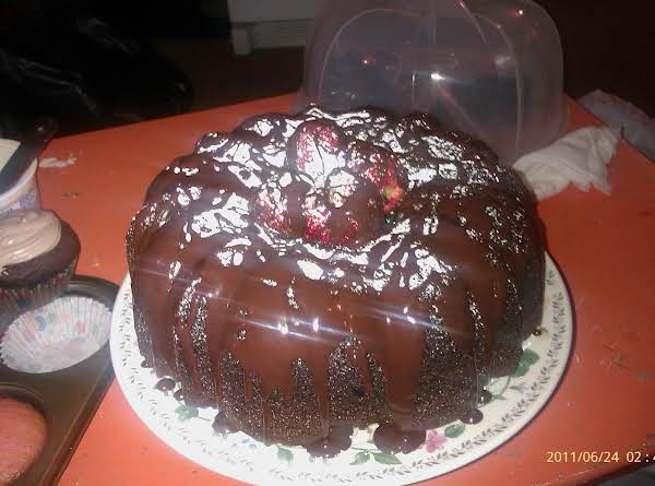 Yum Yum Chocolate Rum Cake Recipe