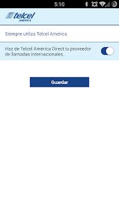 Telcel America Direct Int'l - screenshot thumbnail
