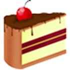 Cake christmas icon