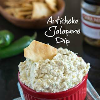 Artichoke Jalapeno Dip.