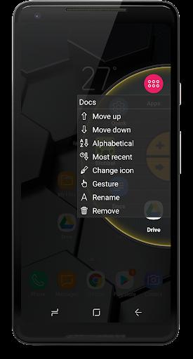 Wheel Launcher a free customizable sidebar screenshots 8
