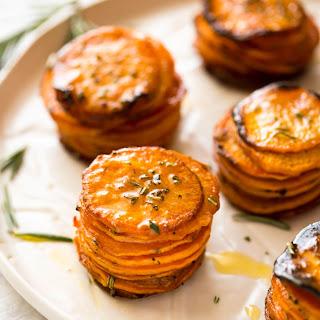 Roasted Sweet Potato Stacks Recipe