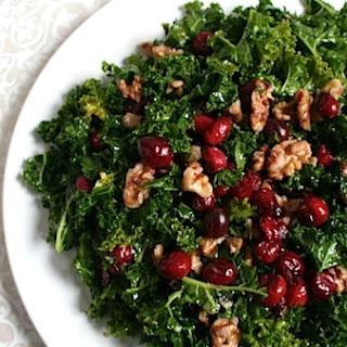 Cranberry Kale Salad.