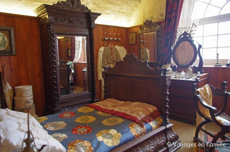 Fortin Sarah Bernhardt, sa chambre