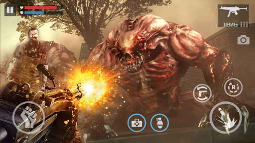 zombie shooter-dead warfare screenshot 1