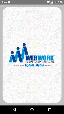 Web Work - screenshot