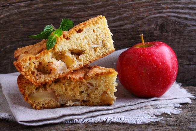Шарлотка классическая с яблоками - рецепт с фото вкусной яблочной шарлотки  | СЕГОДНЯ