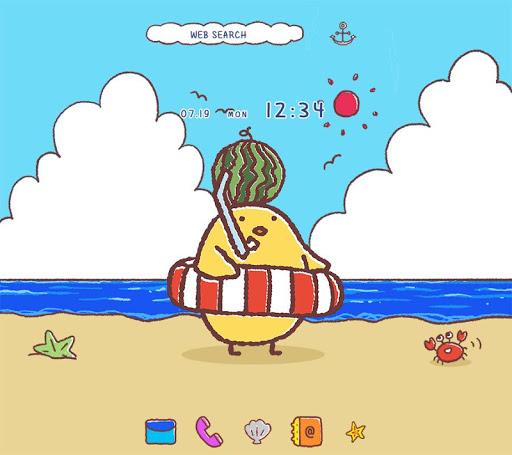 Cute Wallpaper Chick in Summer Theme 1.0.0 Windows u7528 1