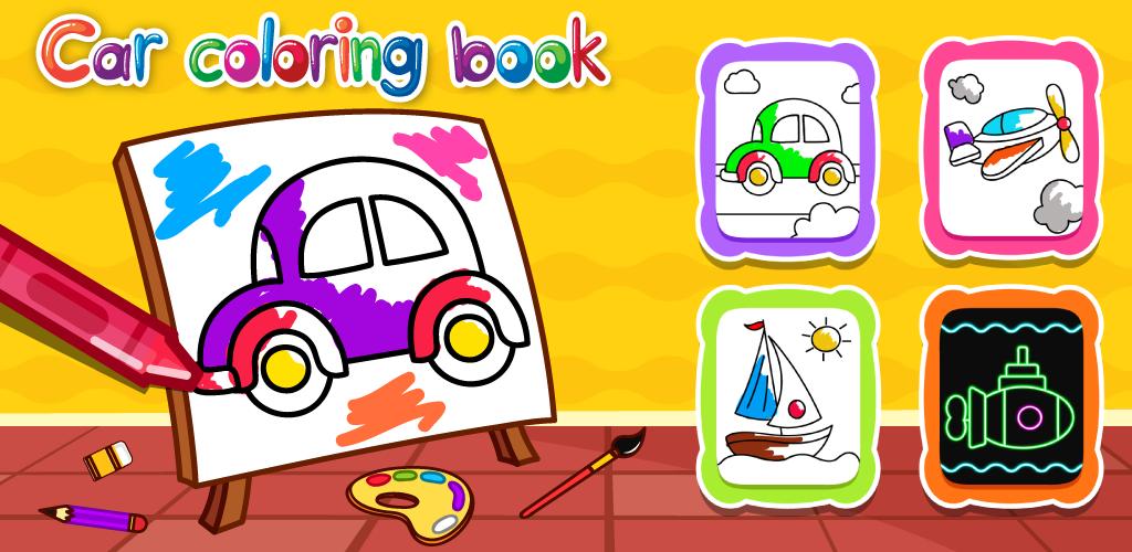 Indir çocuklar Için Boyama Kitabı Doodle Boya Ve çizme 13 Apk