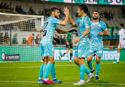 """Le match """"sérieux"""" des Zèbres à Bruges"""