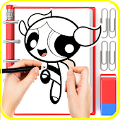 😍 Learn To Draw : Power Girls