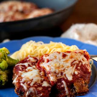 Beef Parmesan with Garlic Parmesan Pasta
