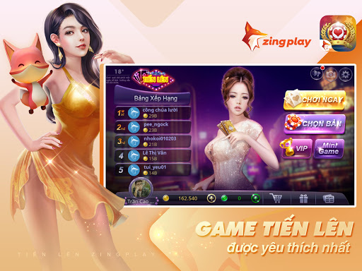 Tiu1ebfn lu00ean Miu1ec1n Nam - Tiu1ebfn Lu00ean - tien len - ZingPlay filehippodl screenshot 6