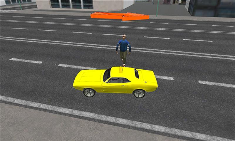 android Modern taxi racing 3D Screenshot 2