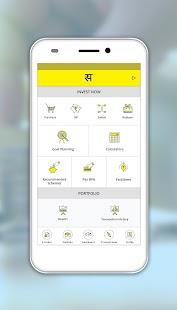 Sadravya - Mutual Funds App - náhled