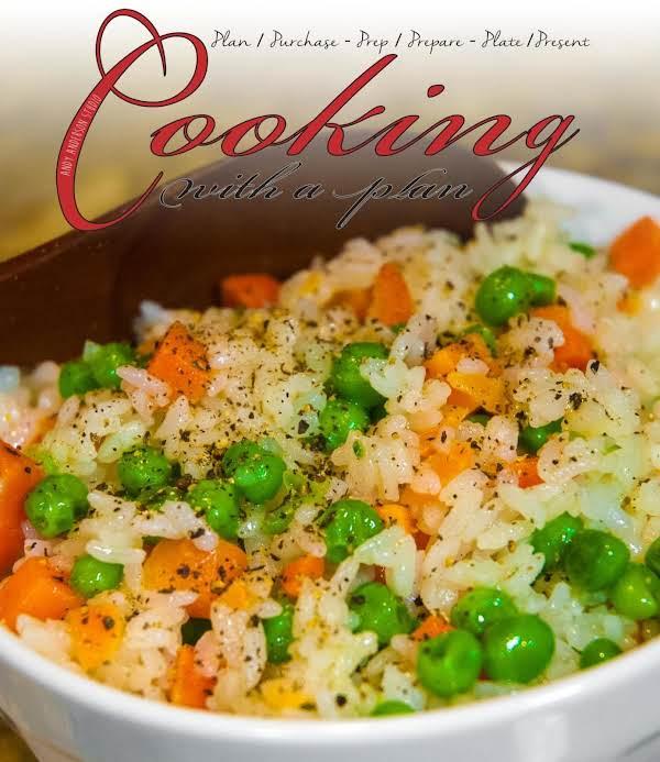Veggie Essentials: Rice With Peas And Carrots Recipe