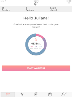 Workoutclub - HIIT workouts: miniatuur van screenshot