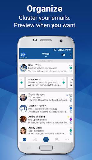 Blue Mail - Email & Calendar App - Mailbox 1.9.5.9 screenshots 6