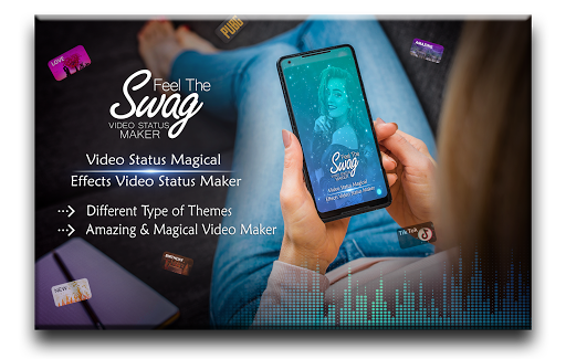 Download Feel The Swag - Magical Lyrical Video Status Maker 6.0 1