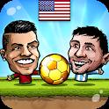 ⚽Puppet Soccer 2014 - Big Head Football 🏆 icon