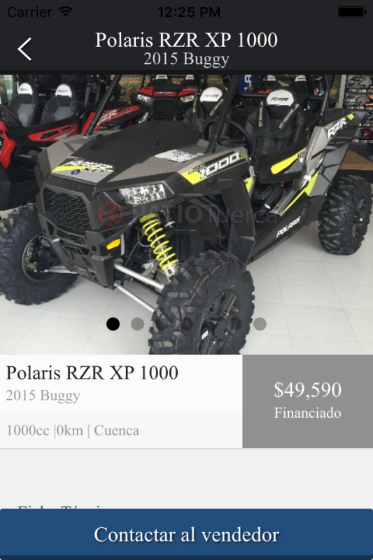 Polaris Used- screenshot