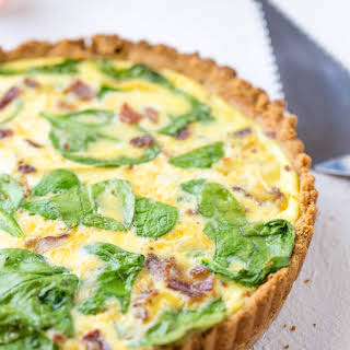 Keto Breakfast Quiche.