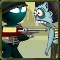 Stickman vs Temple Zombies icon