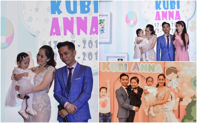 Nắm tay vượt qua chông gai, Khánh Thi - Phan Hiển khóc nức nở trong tiệc sinh nhật của hai con