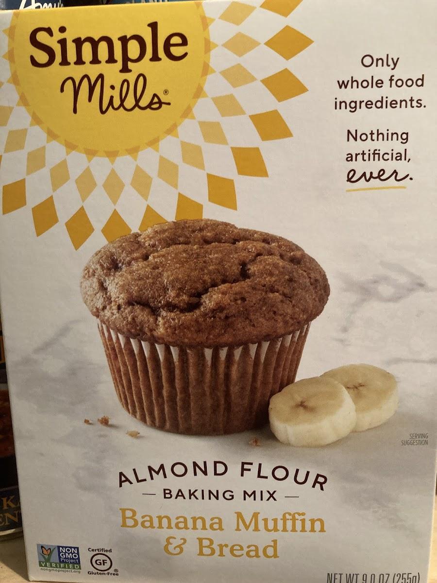 Almond Flour Baking Mix Banana Muffin & Bread