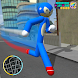 Speed Sonc Stickman Rope Hero Adventure Crime City