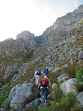 Photo: Ascending to Silverstream ravine