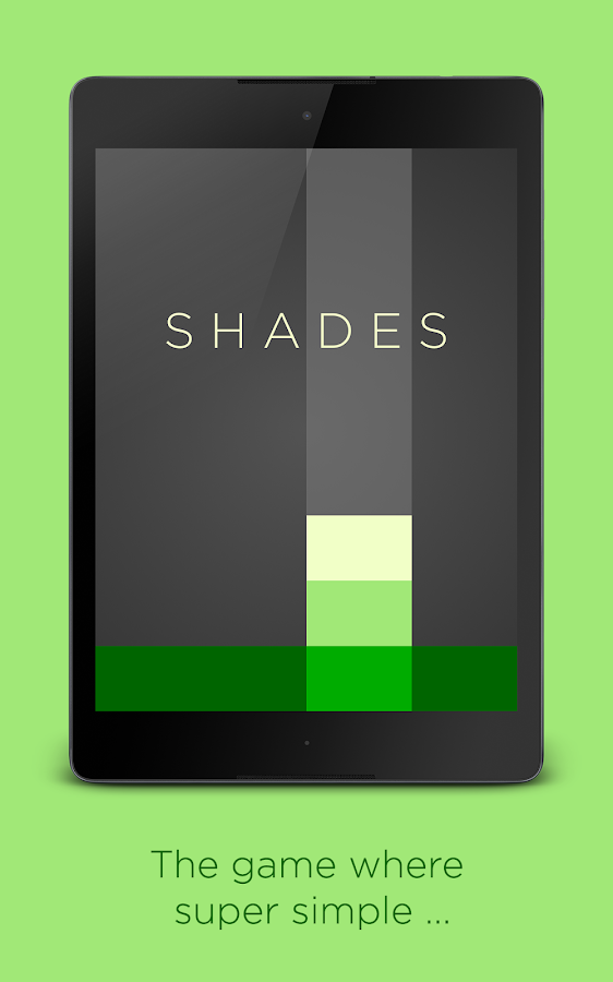 Shades: A Simple Puzzle Game- screenshot