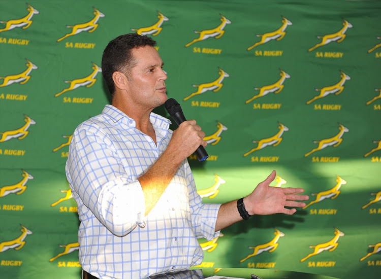Rassie Erasmus was unveiled as the new Springbok coach on Thursday March 1 2018.
