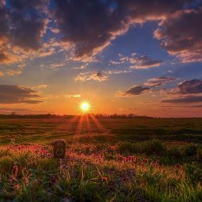 old photo camera by Cornelius D - Landscapes Sunsets & Sunrises