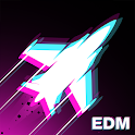 Rhythm Flight: EDM Music Game icon
